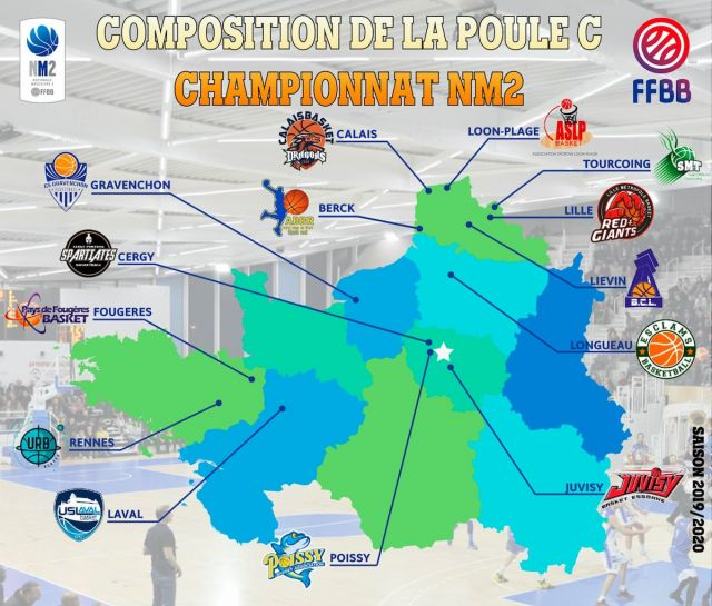 composition poule calais basket